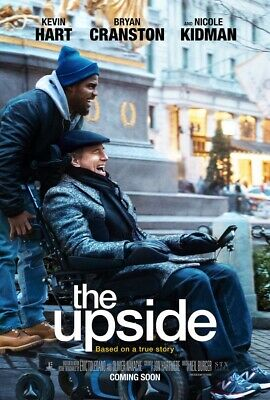 The Upside (DVD, 2019) Disc Only Fast Free Shipping USA Seller