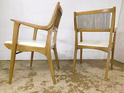 BUY 1 or 2! Mid Century Modern 1957 Arm Dining Chair Van Koert Design for Drexel