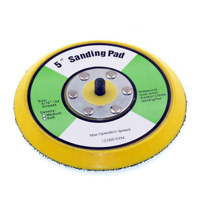 5/16-24 5 inch professional dual action random orbital  sanding pad backer pad