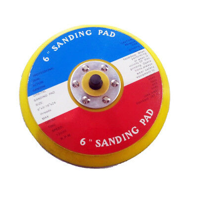 6 inch professional dual action random orbital sanding pad backer pad