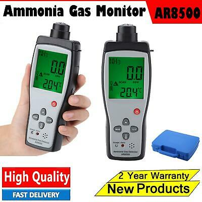SMART SENSOR AR8500 Ammonia Gas Detector Handheld Digital LCD NH3 Gas Monitor UK