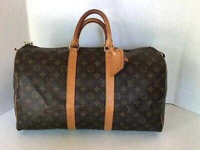 Louis Vuitton Monogram  keepall 45 FL0071 Duffel Bag  Authenticity Verified