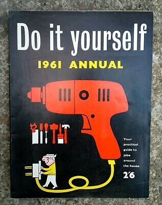 Vintage Do It Yourself Annual 1961 ...VERY NICE CONDITION..FREE SHIPPING UK