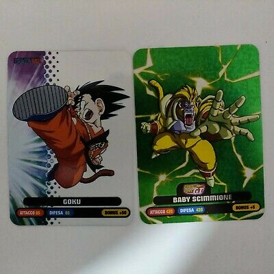 Varie Lamincard (Lamincards) Dragon Ball Collection