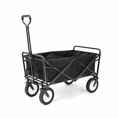 Collapsible Folding Outdoor Utility Wagon Beach Sports Gardening Cart Buggy NEW