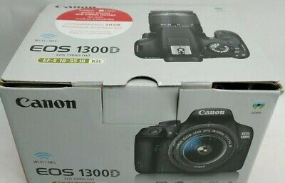 Canon EOS 1300D 18MP DSLR camera with 18-55mm III Lens