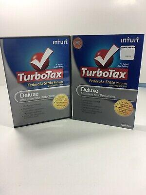 Intuit TurboTax Deluxe Federal & State E-file State 2011
