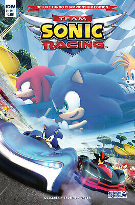 Sonic The Hedgehog Deluxe Turbo Championship - (Idw) Bagged Boarded. Free Uk P+P