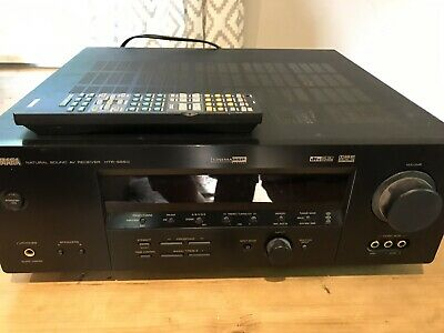 Yamaha HTR-5850 Surround Sound Receiver With Remote Bundle Tested Working!