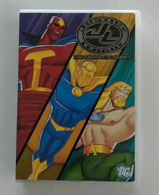 DVD Justice League: The Complete Series Volume Two  (7 disc set)