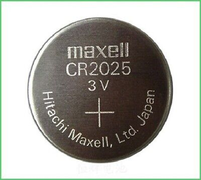 Maxell CR2025 3V Lithium Coin Cell Battery, Pack of 25
