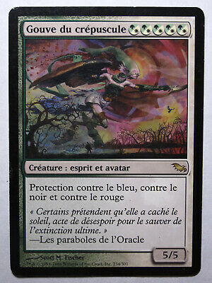 Bergère du Crépuscule VF PREMIUM French Twilight Shepherd FOIL Magic mtg