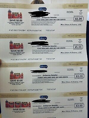 Enfagrow coupons worth $32 Expires July31,2019