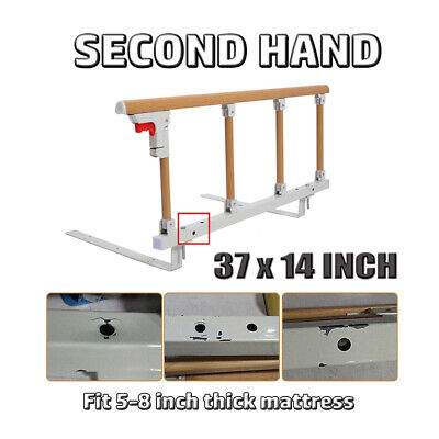 Secondhand - Bed Rail Safety Assist Handle Bed Railing for Elderly & Seniors