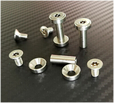 17mm to 22mm Stainless steel chicago TORX screw & gasket 5mm or  6mm hole