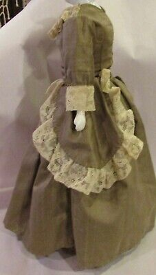 #124 Vintage Fancy Outfit for Antique French or German Bisque Doll