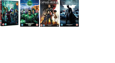 4 dvd captain america the first avenger avengers assemble batman green lantern