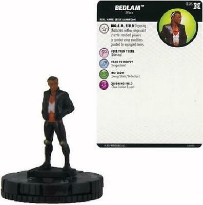 6x Bedlam #026 Deadpool and X-Force Booster Set Marvel Heroclix NM Deadpool &