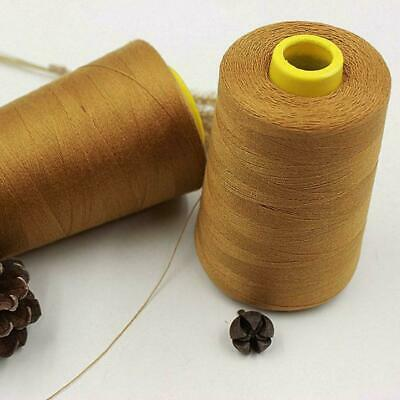 2000m Thick Polyester Thread Upholstry Jeans Denim Button Sew-Craft-Gold- S C6P0