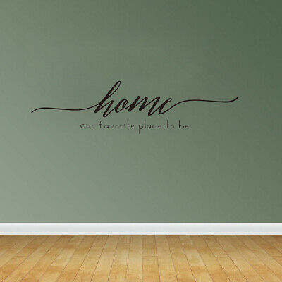 Quote Our Love Story Is My Favorite Wall Decal Sticker Mural Home
