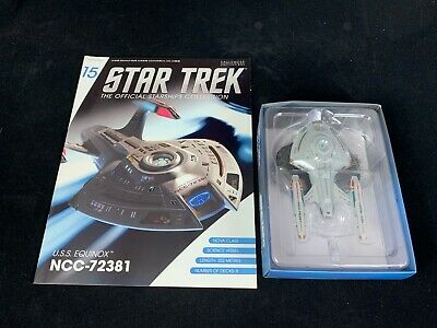 Eaglemoss Star Trek Collection- Starship & Magazine #15-Uss Equinox Ncc-72381