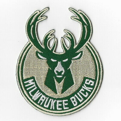 NBA Milwaukee Bucks Iron on Patches Embroidered Badge Patch Applique Word Letter