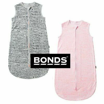 Bonds Baby Girls Boys Summer Lightweight Sleeping Bag Sleepwear Cotton Bya3A