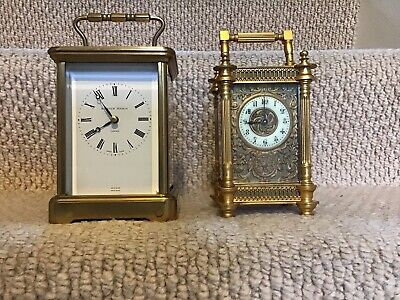 """REDUCED"" PRICE, £100 Off MATTHEW NORMAN SWISS QUALITY CHIMING CARRIAGE CLOCK."