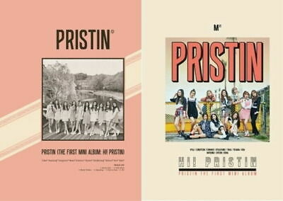 Pristin-[Hi! Pristin]1st Mini Album Random Ver CD+Poster+Booklet+Card+etc+Gift