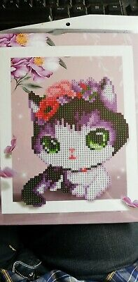 3D DIY Animal Painting Floral Picture Home Decoration Diamond Embroidery Kit/#O