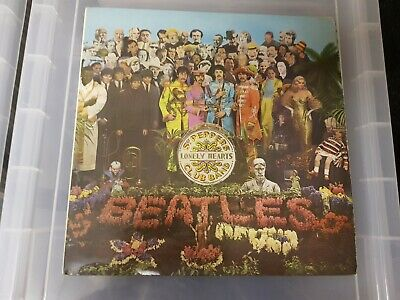 The Beatles - Sgt. Pepper's Lonely Hearts Club Band LP Stereo UK 1967