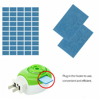 50x Mosquito Insect Repellent Tablets Refill Replacement Plug in Adaptor Mats