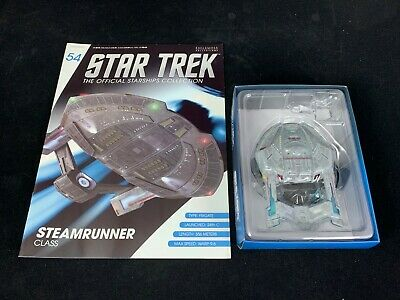 Eaglemoss Star Trek Collection- Starship & Magazine #54 - Steamrunner Class