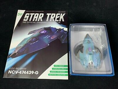 Eaglemoss Star Trek Collection-Starship/Magazine #59-Uss Relativity Ncv-474439-G