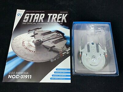 Eaglemoss Star Trek Collection- Starship/Magazine #91 - Uss Saratoga Ncc-31911