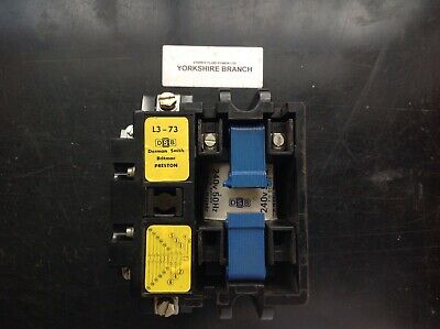Dorman Smith L3-73 Obsolete Contactors