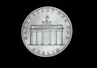 Gedenkmünze 5 Mark DDR 1979 Berlin Brandenburger Tor vz-st