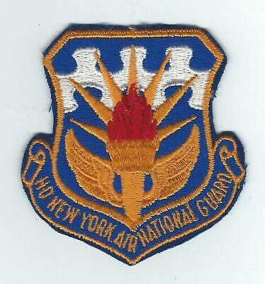 60's HQ NEW YORK AIR NATIONAL GUARD patch