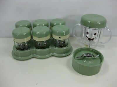Magic Bullet Baby Bullet Food System Jars Accessories