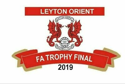 Leyton Orient Limited Edition 2019 Fa Trophy Finalist Badge