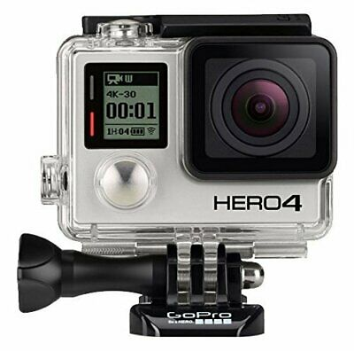GoPro HERO4 Black and Silver Edition 4K Video 12MP Camera Camcorder