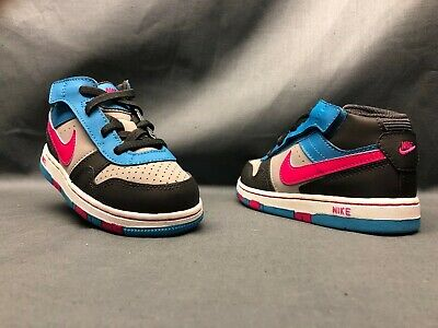 3465a638d99 Nike Prestige III High (TD) Athletic Sneakers Blue/Gray Toddlers Size 6 NEW