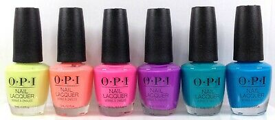 OPI Nail Lacquer - NEON Spring/ Summer 2019 Collection - Pick Any color .5oz