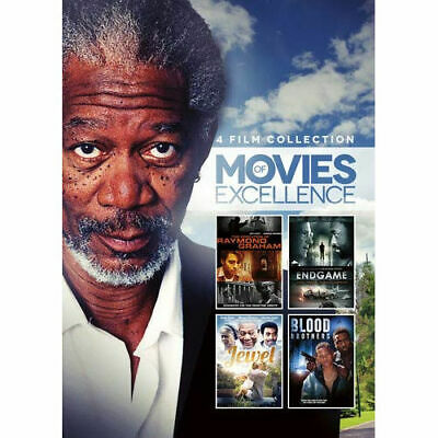4-Film Collection: Movies of Excellence DVD Morgan Freeman