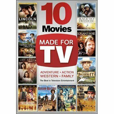 10 Movies Made for TV DVD Box Set James Garner, Sam Waterston