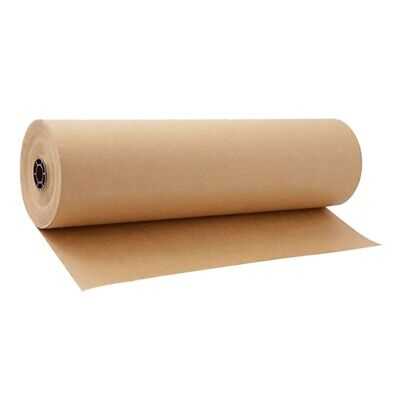 30 Meters Brown Kraft Wrapping Paper Roll For Wedding Birthday Party Gift W R1N8