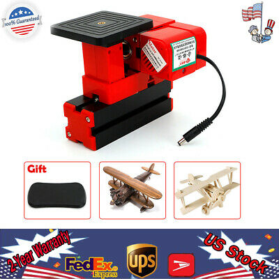 24W Mini Lathe Sawing Jig-saw Machine Model Make Woodworking DIY Set New!