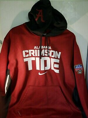 05af2ec021f Men's ALABAMA XL Crimson Tide Sugar Bowl Sweat Hooded Hoodie Nike Therma-Fit