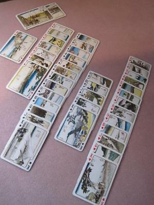 53 STAGES of TOKAIDO by Ando HIROSHIGE 1950's Old Japan Playing Cards Orig Case