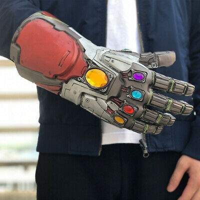 US Thanos Infinity Gauntlet Glove Cosplay Infinity War The Avengers Prop Gifts